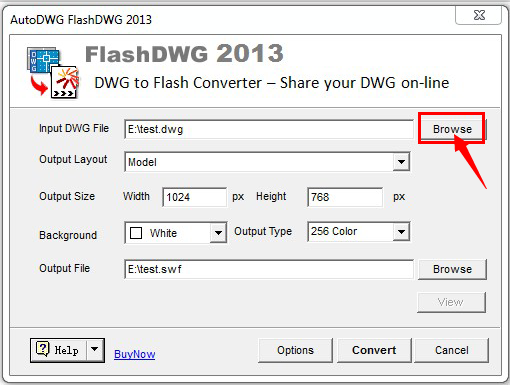 DWG2Flash-Step2