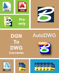 Converting DGN to DWG