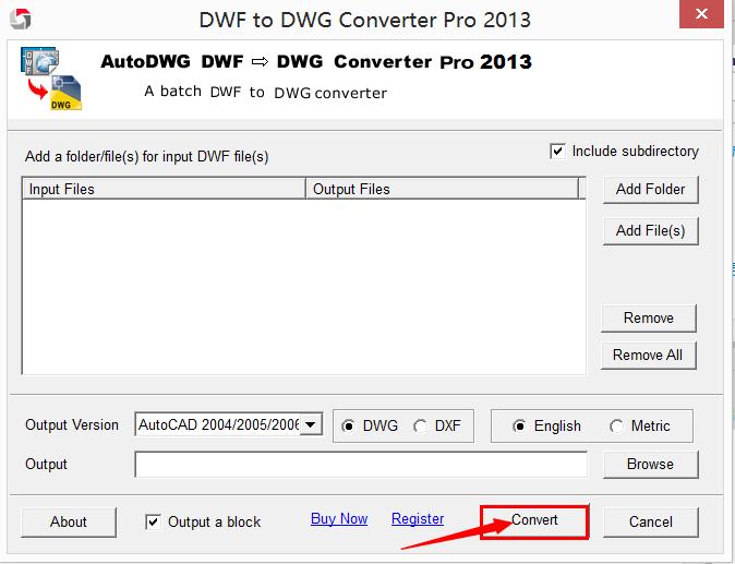 DWF to DWG Converter,Convert DWF to DWG, DWFIN