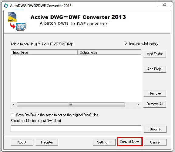 Convert DWG to DWF, DWG DWF Converter