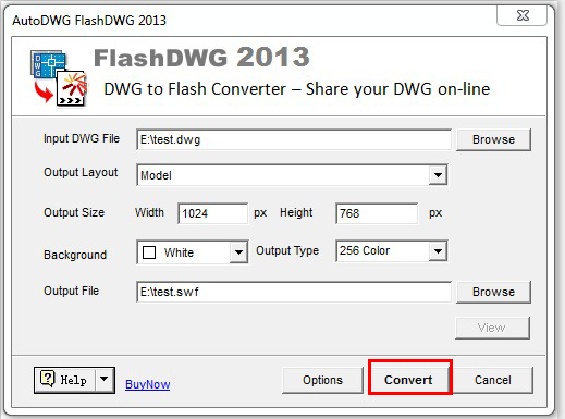 DWG2Flash-Step6