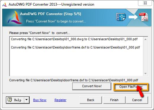 AutoDWG DWG to PDF Converter