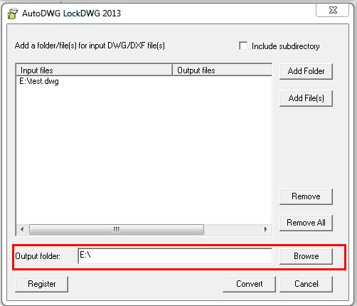 Protect dwg file, Lock dwg file with DWGLock