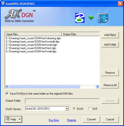 dgn2dwgpro-screenshot